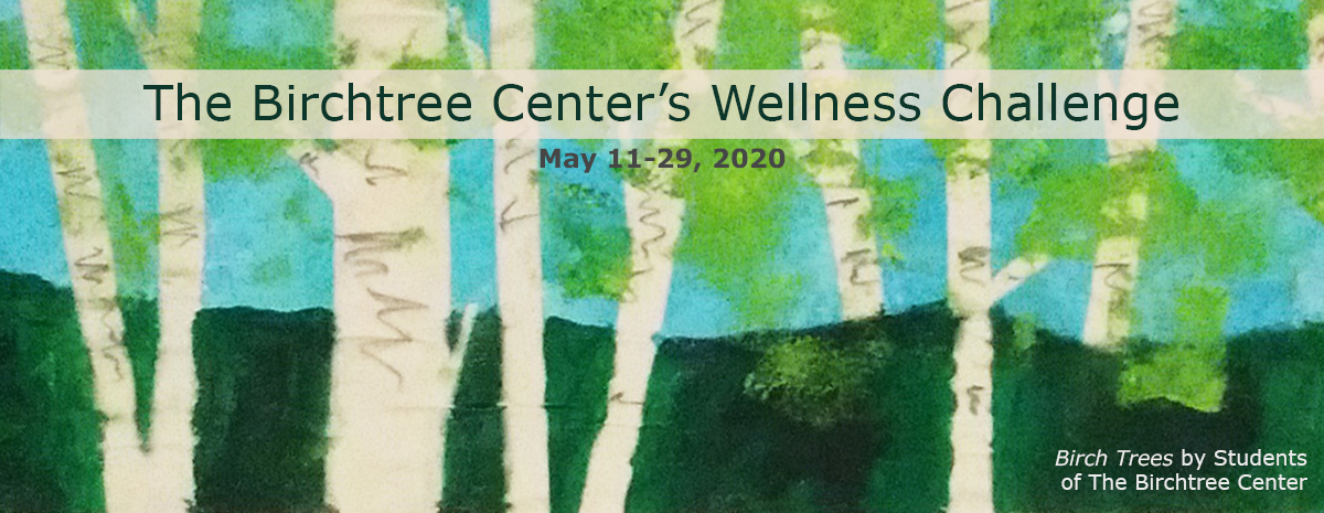 The Birchtree Center's Wellness Challenge